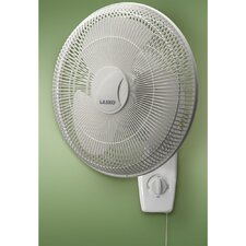 "<strong>Lasko</strong> 16"" Oscillating Wall Mount Fan"