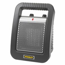 Stanley 1,500 Watt Ceramic Compact Space Heater with Thermostat
