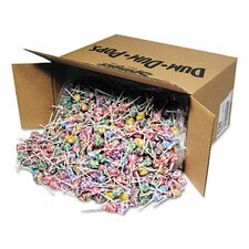Dum-Dum-Pops, Assorted Flavors, Individually Wrapped, Bulk 30 lb Carton