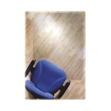 Cleartex Ultimat Polycarbonate Chair Mat For Hard Floors, 48 X 79