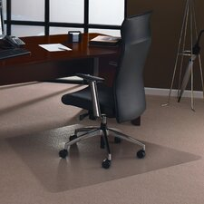 <strong>Floortex</strong> Cleartex Ultimat Polycarbonate General Office Mat for Low and Medium Pile Carpets