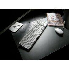 Desktex PVC Smooth Back Rectangular Desk Mats (Set of 30)