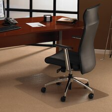 Cleartex Ultimat Polycarbonate General Office Mat for Plush Pile Carpets