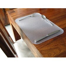 Desktex Anti-Slip Polycarbonate Place Mats (Pack of 32)