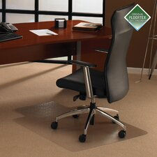 Cleartex Plush Pile Carpet Lipped Chairmat