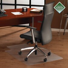<strong>Floortex</strong> Cleartex Plush Pile Carpet Lipped Chairmat