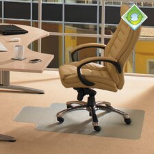 <strong>Floortex</strong> Ecotex Standard Pile Carpet Lipped Chairmat