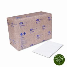 Dispenser Napkins, Interfold,13w x 8 1/2L, White