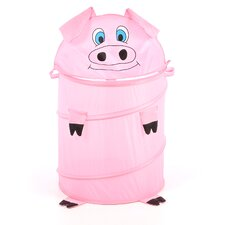 The Original Bongo Bag Pig Pop Up Hamper