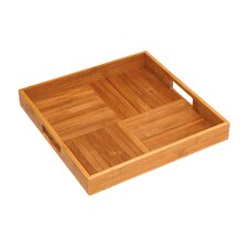 Bamboo Square Serving Tray