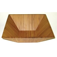 "Bamboo Square 11"" Serving Bowl"