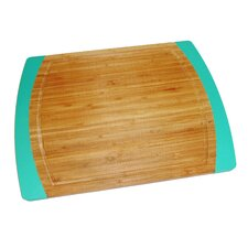 Bamboo and Silicone Non-Slip Cutting Board