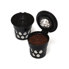 Single Serve Reusable Coffee Pod for Keurig® Coffee Makers (Set of 2)