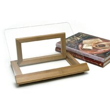 <strong>Lipper International</strong> Bamboo and Acrylic Cookbook Holder