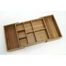 <strong>Lipper International</strong> Bamboo Expandable Junk Organizer