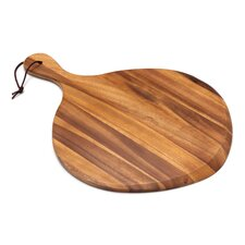 Acacia Fan Shaped Pizza Board