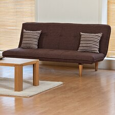 <strong>Kyoto Futons</strong> Bridport 3 Seater Convertible Sofa Clic Clac Bed
