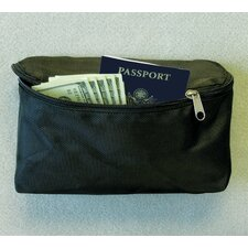 Zippered Hook and Loop Fastener Pouch for Safe