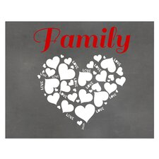 Family Love Graphic Art