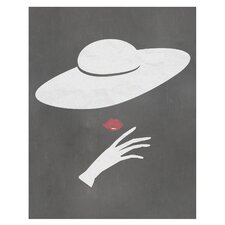 Vintage Hat Fashion Art Print