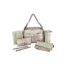 Jessica 7 Piece Diaper Bag Set