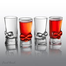 Final Touch 4 Piece Brainfreeze Shot Glass Set