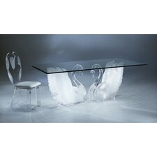 <strong>Shahrooz</strong> Legend Swan 5 Piece Dining Set