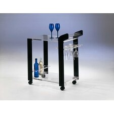 Bar Acrylic Trolley