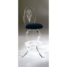 Palace Swivel Bar Stool with Cushion