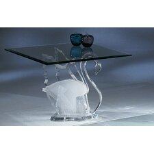 Legend Swan Acrylic End Table Base