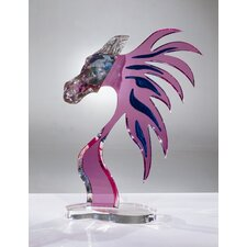 Sculptures and Art Pieces Acrylic Cheval Sculpture