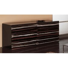 Contempo Acrylic 6 Drawer Dresser