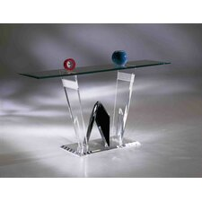 Diamond Cut Acrylic Sofa Table Base