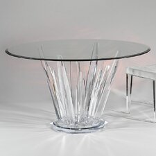 Crystals Round Dinette Table