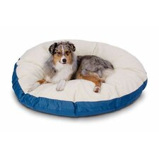 Supersoft Round Sherpa Dog Bed