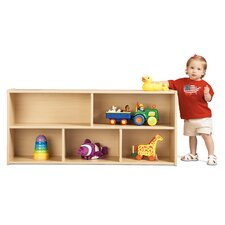 <strong>Young Time</strong> Toddler Two Shelf Storage Unit
