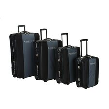 <strong>Rockland Polo Equipment</strong> 4 Piece Expandable Luggage Set