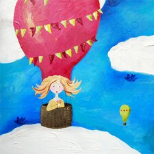 Wit & Whimsy Up Up and Away Canvas Art
