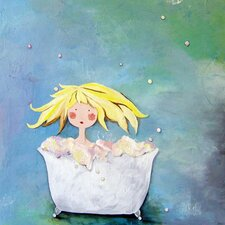 Wit & Whimsy Bubbles Canvas Art