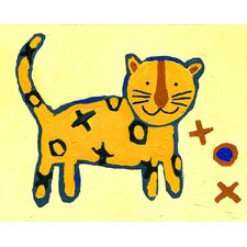<strong>CiCi Art Factory</strong> Paper Prints X & O Tiger Canvas Print
