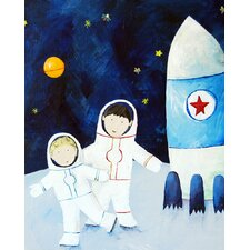 <strong>CiCi Art Factory</strong> Paper Prints Brothers on the Moon