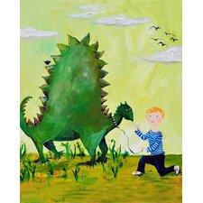 Dino Paper Print