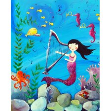 Wit and Whimsy Mermaid Canvas Print