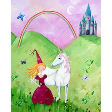 Wit and Whimsy Princess 2 Canvas Print