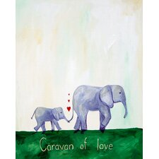 Words of Wisdom Caravan of Love Print
