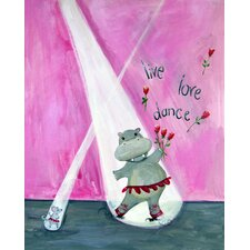 Words of Wisdom Live Love Dance Print