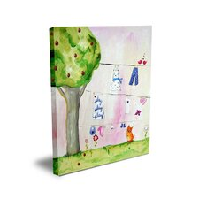 Words of Wisdom Play Play Play Canvas Art