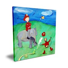 <strong>CiCi Art Factory</strong> Wit & Whimsy Animal Fire Squad Canvas Art