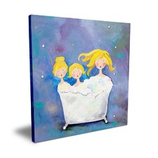 <strong>CiCi Art Factory</strong> Wit & Whimsy Three Sisters Canvas Art