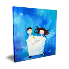 <strong>CiCi Art Factory</strong> Wit & Whimsy Two in a Tub Canvas Art